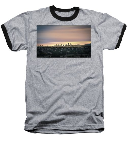 Gloden Sky On Vancouver Baseball T-Shirt