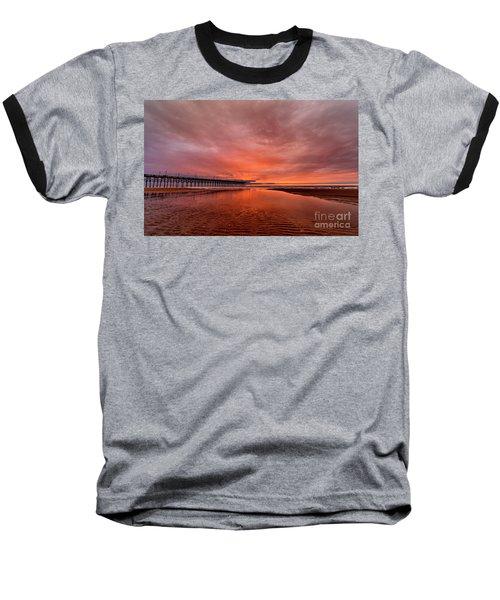 Glowing Sunrise Baseball T-Shirt