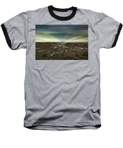 Go East Young Man Baseball T-Shirt
