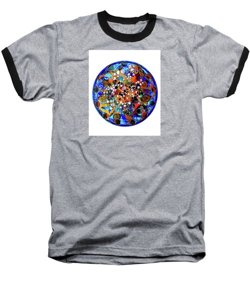 Go With The Flow 1 Baseball T-Shirt