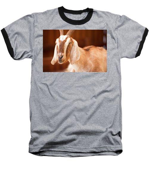 Goat Baseball T-Shirt