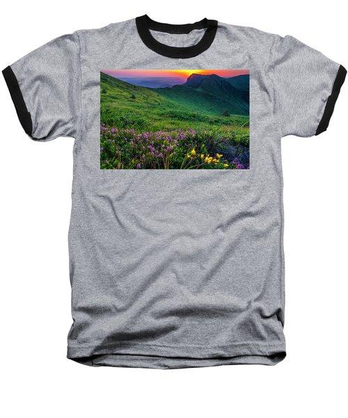 Goat Wall Baseball T-Shirt