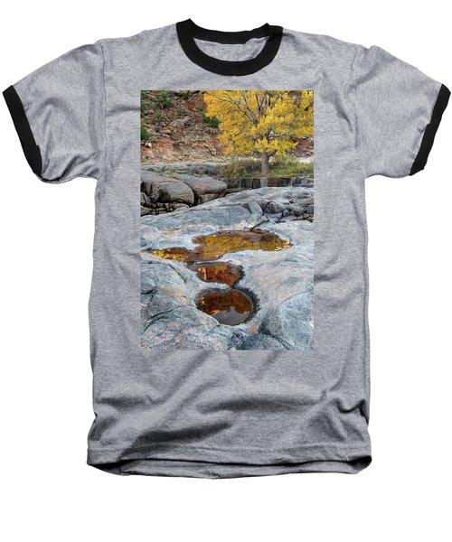Gold Reflection Baseball T-Shirt