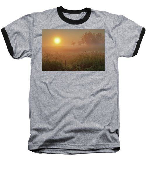 Golden Morning Baseball T-Shirt