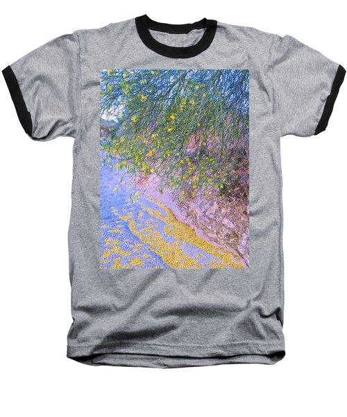 Golden Petals In A Desert Wash Baseball T-Shirt