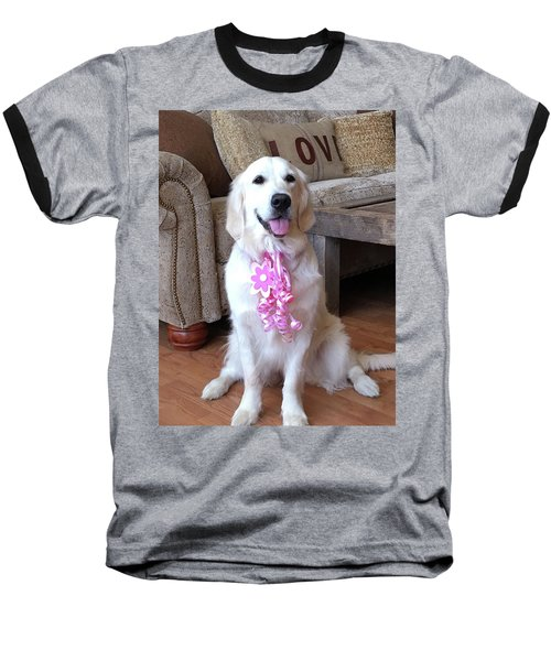 Golden Retreiver Baseball T-Shirt