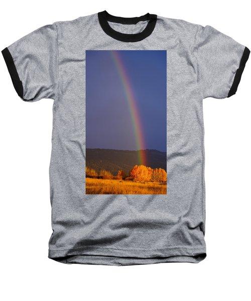 Golden Tree Rainbow Baseball T-Shirt