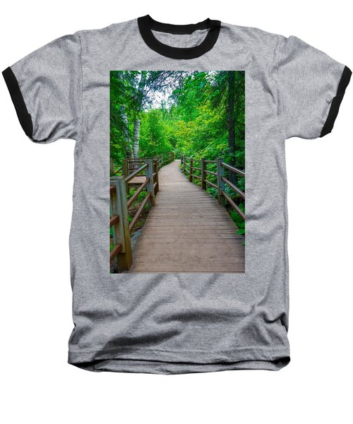 Gooseberry River Trail Baseball T-Shirt