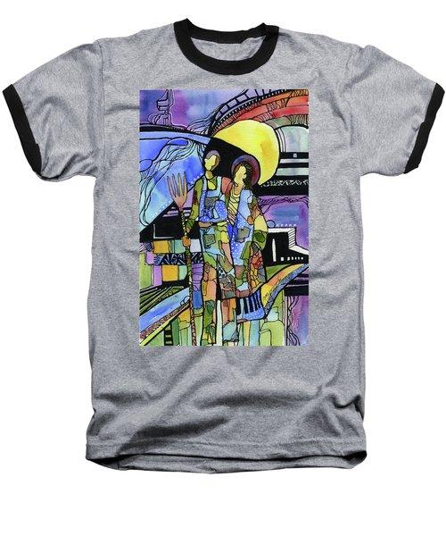 Gothic Friends Baseball T-Shirt
