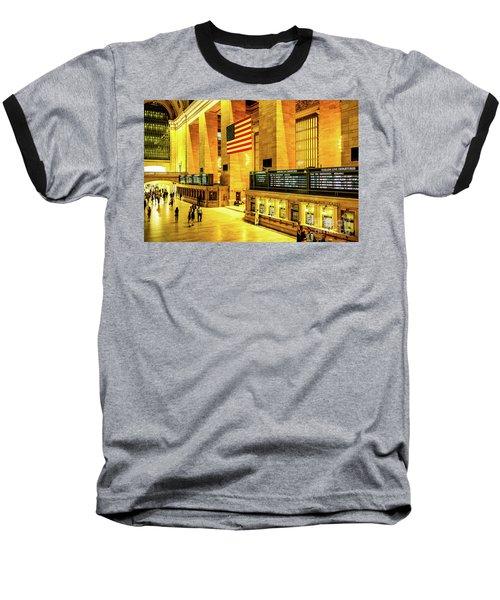 Grand Central Station Baseball T-Shirt