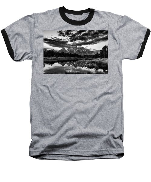 Grand Tetons, Wyoming Baseball T-Shirt