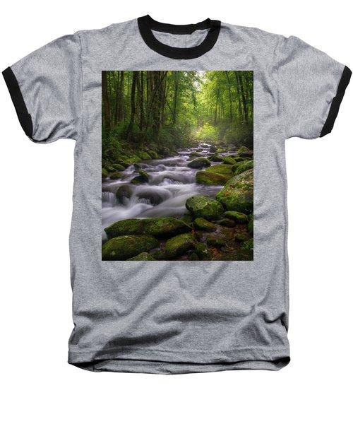 Great Smoky Mountains Gatlinburg Tennessee Baseball T-Shirt