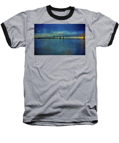 Greater New Orleans Bridge Baseball T-Shirt