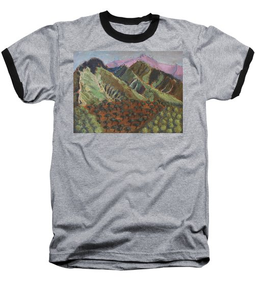 Green Canigou Baseball T-Shirt
