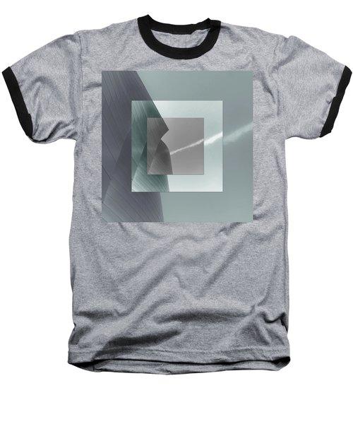 Green Gehry Baseball T-Shirt