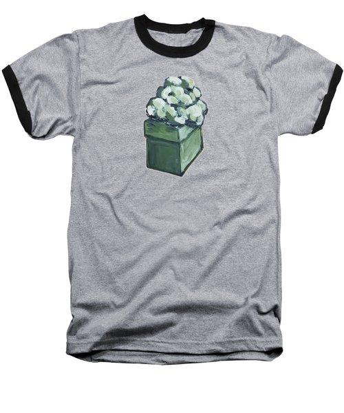 Green Present Baseball T-Shirt