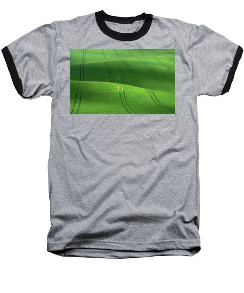 Green Velvet Baseball T-Shirt