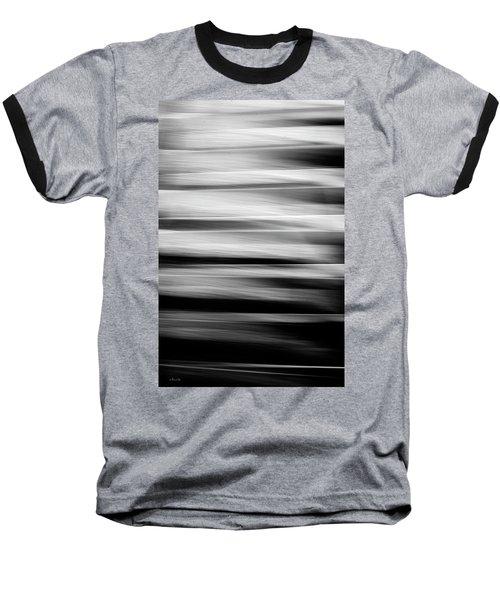 Abstract Waves Baseball T-Shirt