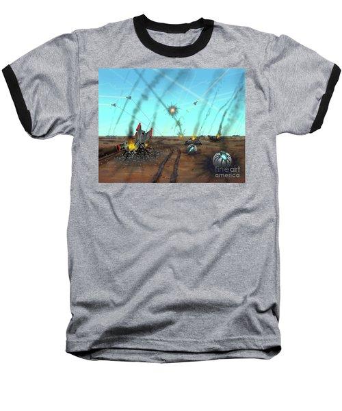 Ground Battle Baseball T-Shirt
