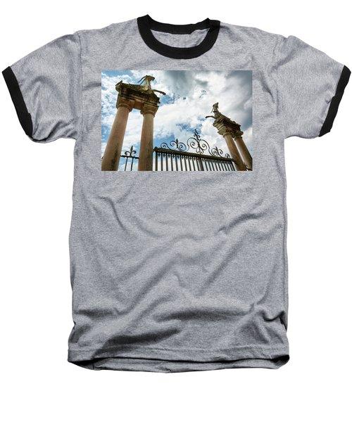 Guarding The Island Baseball T-Shirt