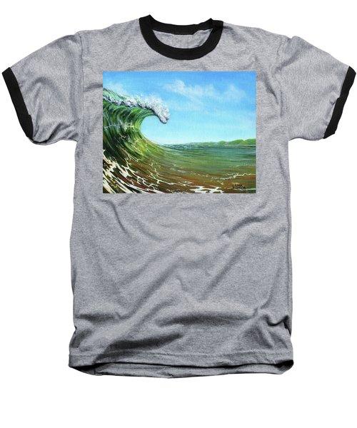 Gulf Of Mexico Surf Baseball T-Shirt