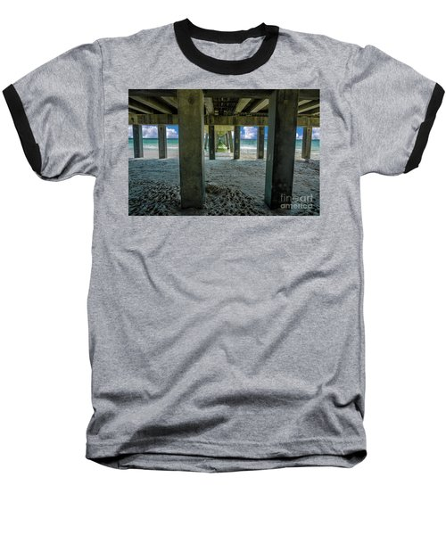 Gulf Shores Park And Pier Al 1649b Baseball T-Shirt