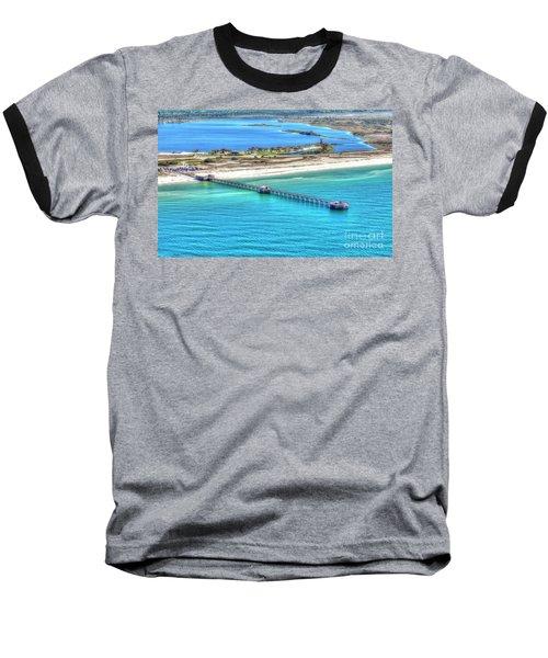 Gulf State Park Pier 7464p3 Baseball T-Shirt