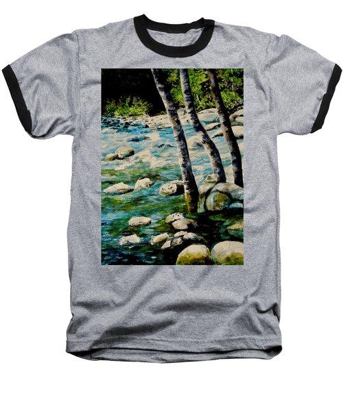 Gushing Waters Baseball T-Shirt