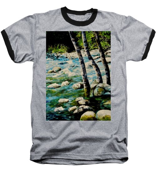 Gushing Waters Baseball T-Shirt