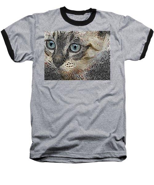 Gypsy The Siamese Kitten Baseball T-Shirt