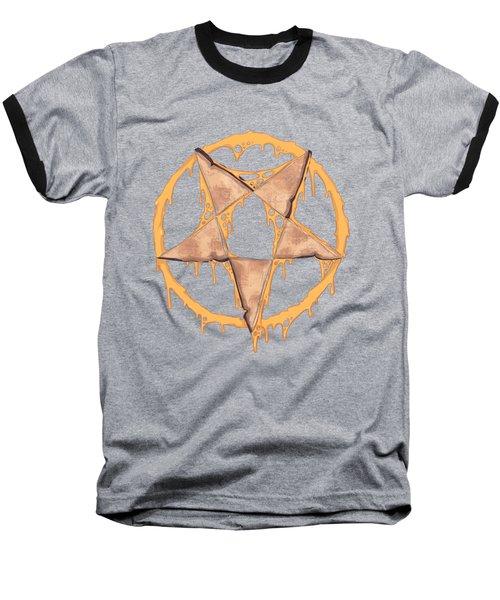 Hail Grilled Cheese Baseball T-Shirt