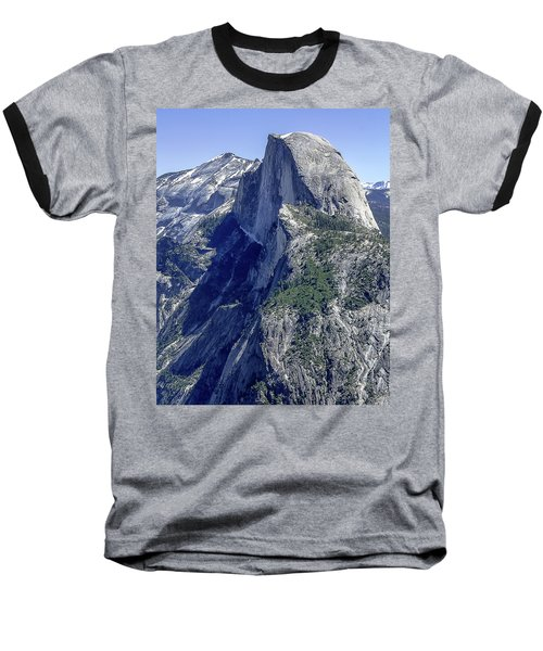 Half Dome From Glacier Point Baseball T-Shirt