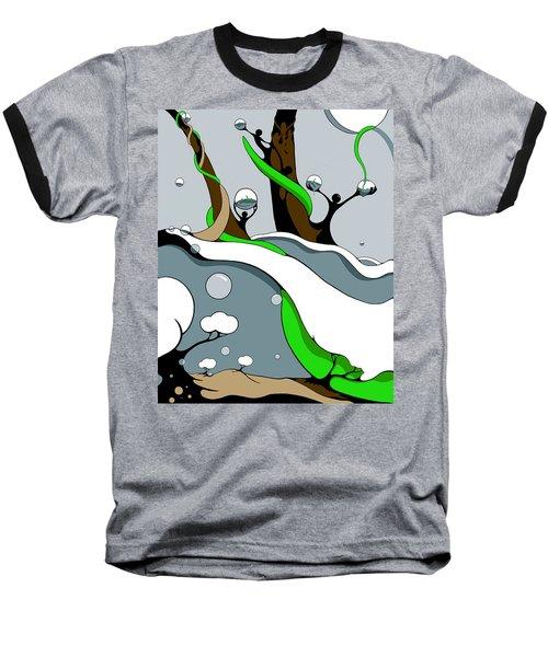 Half Full Baseball T-Shirt