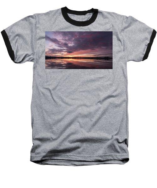 Halifax River Sunset Baseball T-Shirt