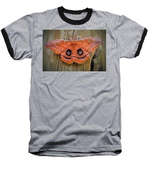 Halloween Moth Baseball T-Shirt