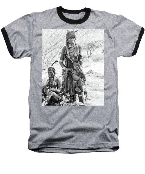 Hammer Women And Child Baseball T-Shirt