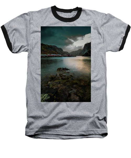 Hamnoy, Lofoten Islands Baseball T-Shirt
