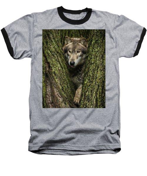 Hangin In The Tree Baseball T-Shirt