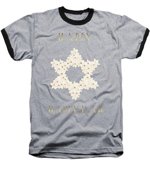 Happy Hanukkah  Baseball T-Shirt