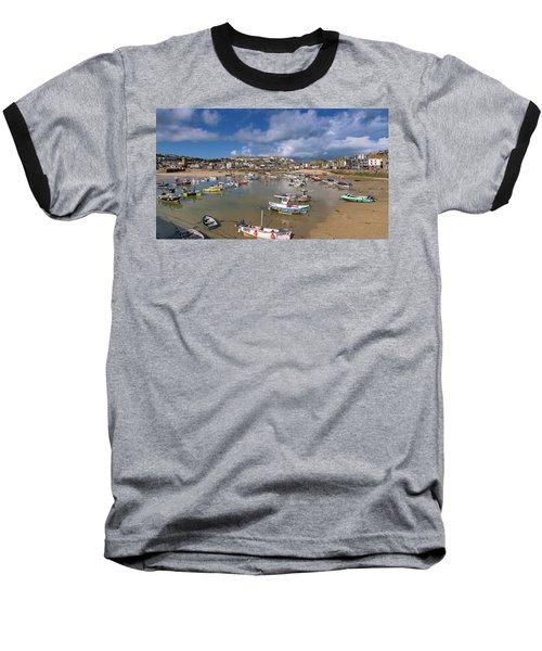 Harbour - St Ives Cornwall Baseball T-Shirt
