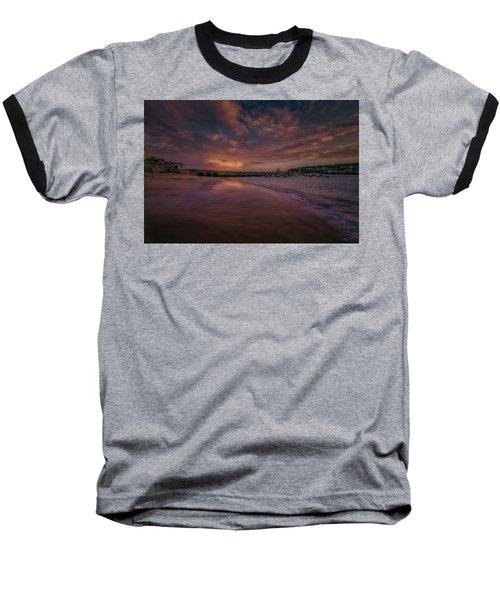 Harbour Sunset - St Ives Cornwall Baseball T-Shirt
