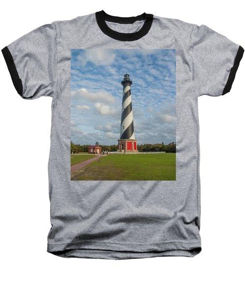 Hatteras Lighthouse Baseball T-Shirt