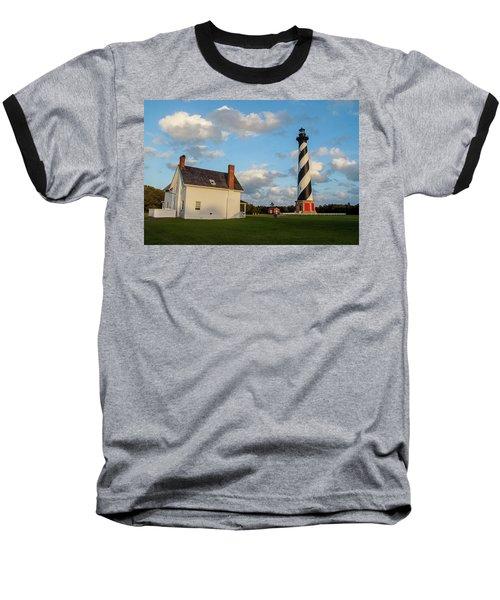 Hatteras Lighthouse No. 2 Baseball T-Shirt