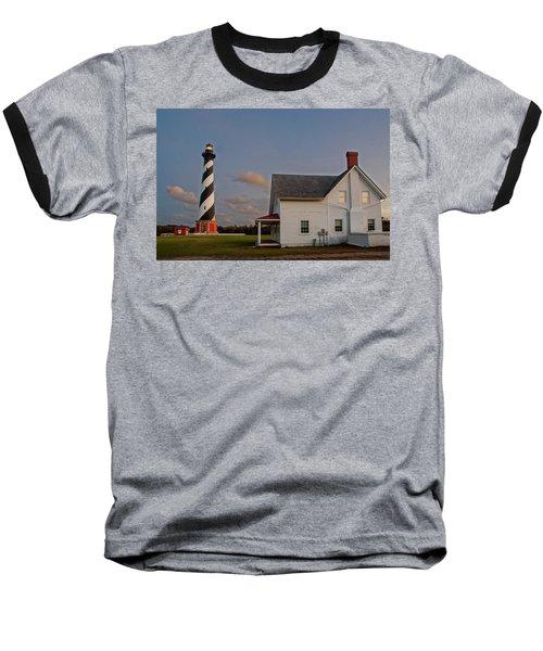 Hatteras Lighthouse No. 3 Baseball T-Shirt