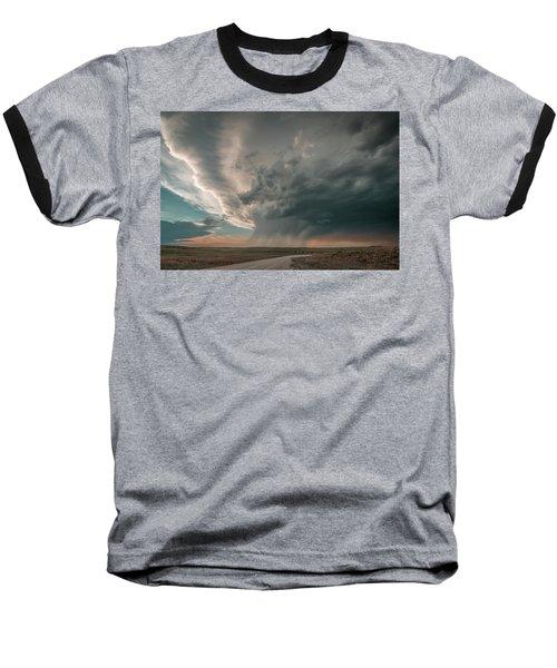 Hay Springs Ne Supercell Baseball T-Shirt
