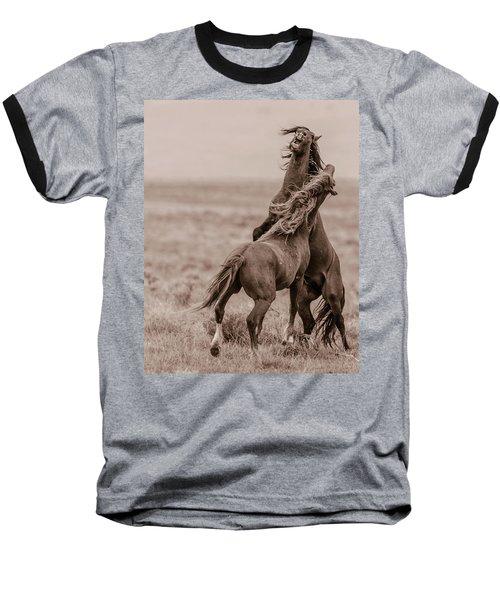 He Means It Baseball T-Shirt