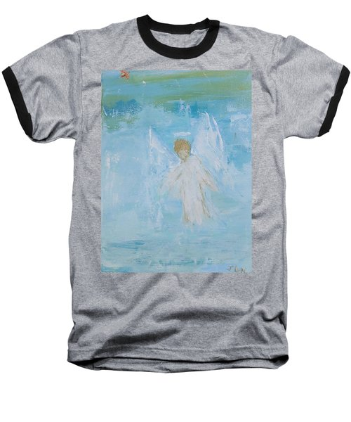 Heavenly Angel Child Baseball T-Shirt