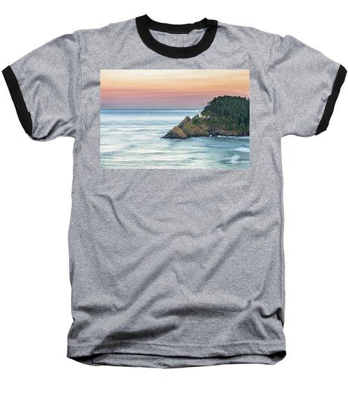 Heceta Lighthouse Baseball T-Shirt