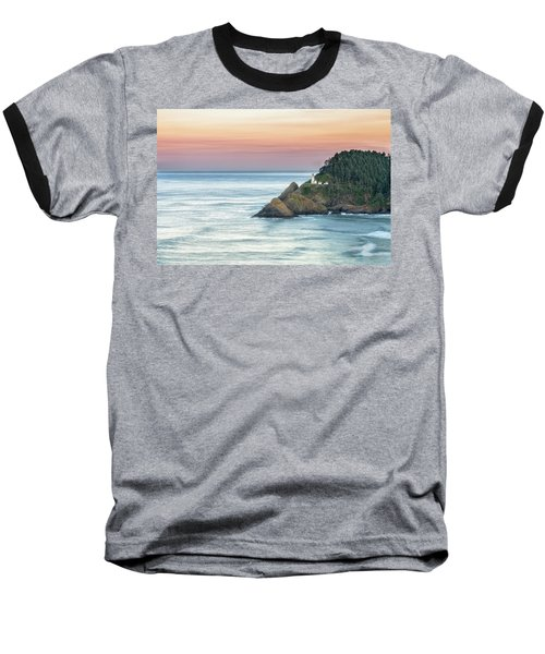 Heceta Lighthouse Baseball T-Shirt