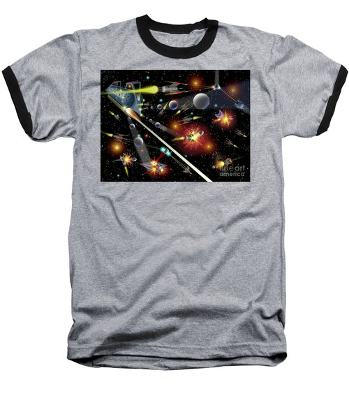 Hell In Space Baseball T-Shirt